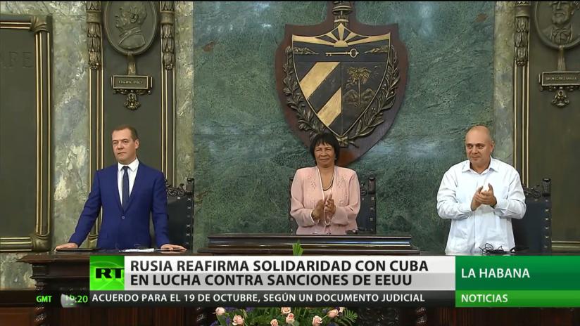 Rusia reafirma solidaridad con Cuba en la lucha contra las sanciones de EE.UU.