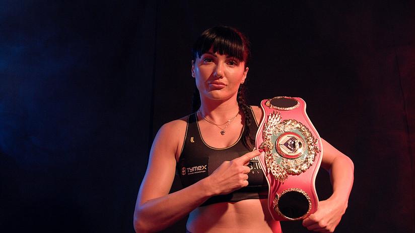 Deportivo: La boxeadora Soledad Mathysse perdió con la rival que la besó