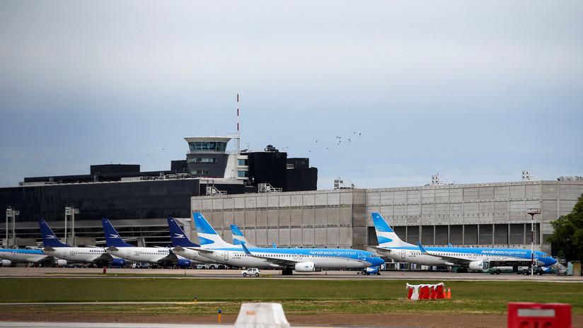 Pilotos y aeronáuticos de Argentina ratifican la huelga de 48 horas tras reunirse con el Gobierno