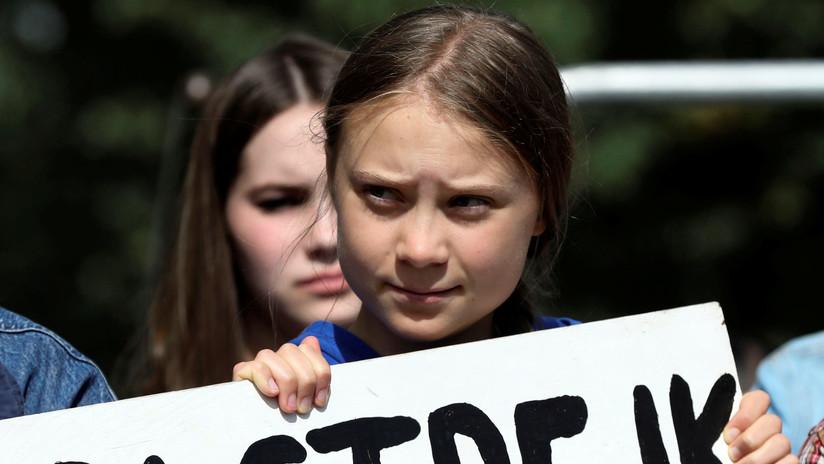 """""""Nos quieren silenciar"""": Greta Thunberg señala a """"personas poderosas"""" como Donald Trump"""