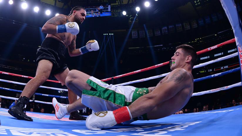 VIDEO: Un boxeador irlandés sufre una impactante lesión de rodilla en su debut profesional