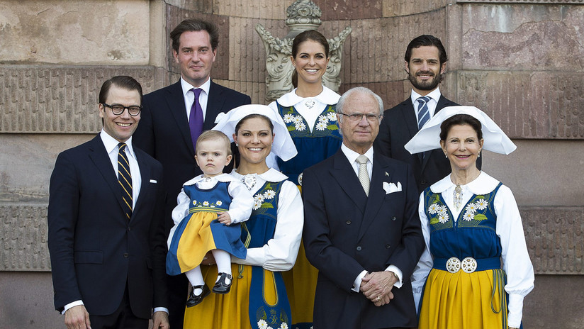 El rey de Suecia despoja a sus cinco nietos del título de Alteza Real