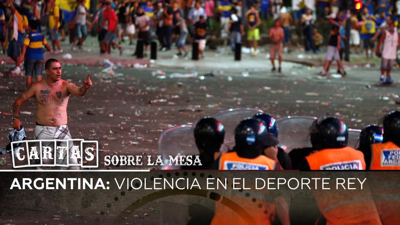 Argentina: violencia en el deporte rey