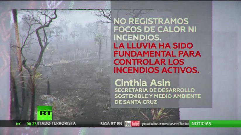 Bolivia anuncia plan para recuperar la región de Amazonia tras los incendios masivos