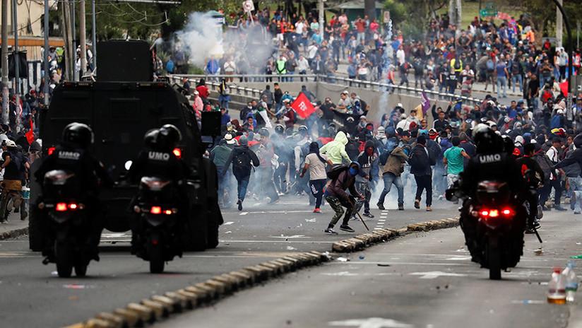 ¿Desestabilización externa o reacción popular?: qué sucede con las protestas contra el 'paquetazo' en Ecuador