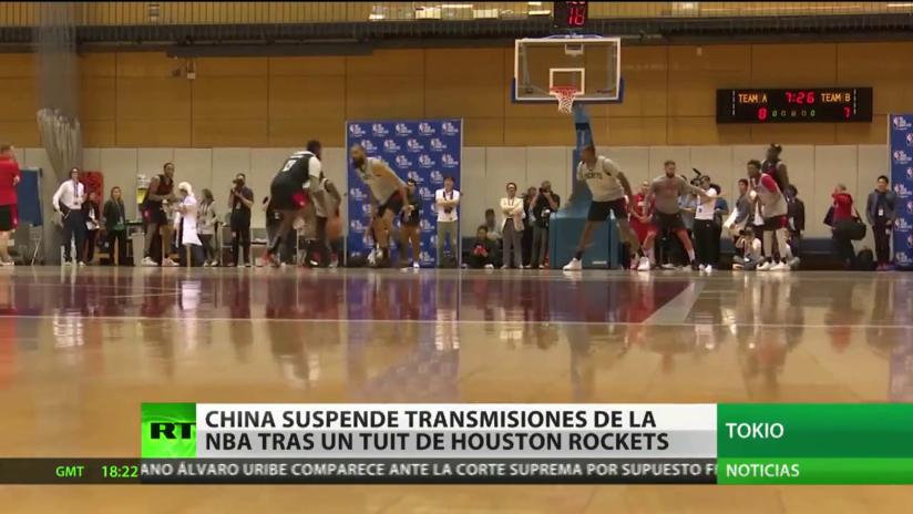 China suspende transmisiones de la NBA de Houston Rockets tras un tuit del gerente general del equipo