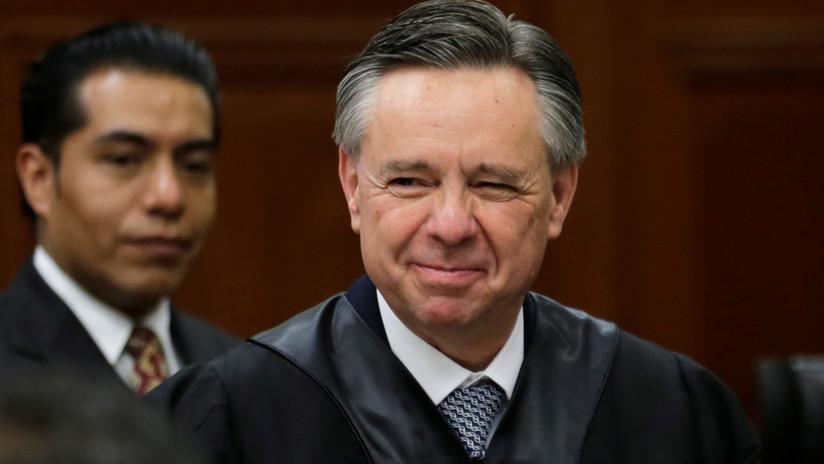 El Senado mexicano acepta la renuncia de un polémico ministro de la Suprema Corte