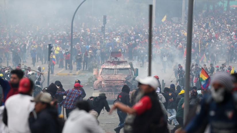 Se confirman dos muertos durante las protestas contra el 'paquetazo' de Lenín Moreno en Ecuador
