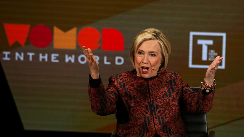 """""""No me tiente"""": Hillary Clinton amenaza con unirse a la carrera presidencial después de una burla de Trump en Twitter"""