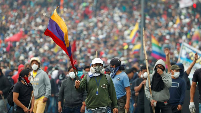 Masivas protestas en Ecuador contra el 'paquetazo' del presidente Lenín Moreno
