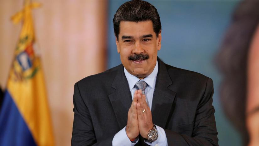 """""""Creen que muevo mis bigotes y tumbo gobiernos"""": Maduro se burla de la acusación de Moreno de que está detrás de la crisis de Ecuador (VIDEO)"""