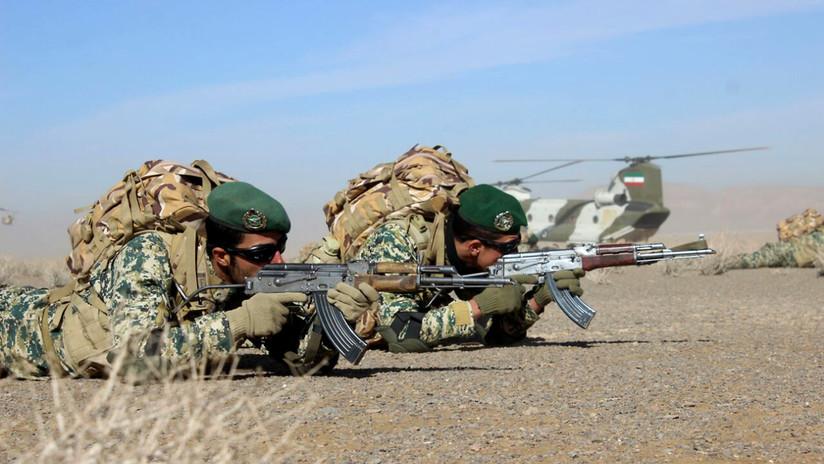 Irán inicia maniobras militares no anunciadas cerca de la frontera con Turquía