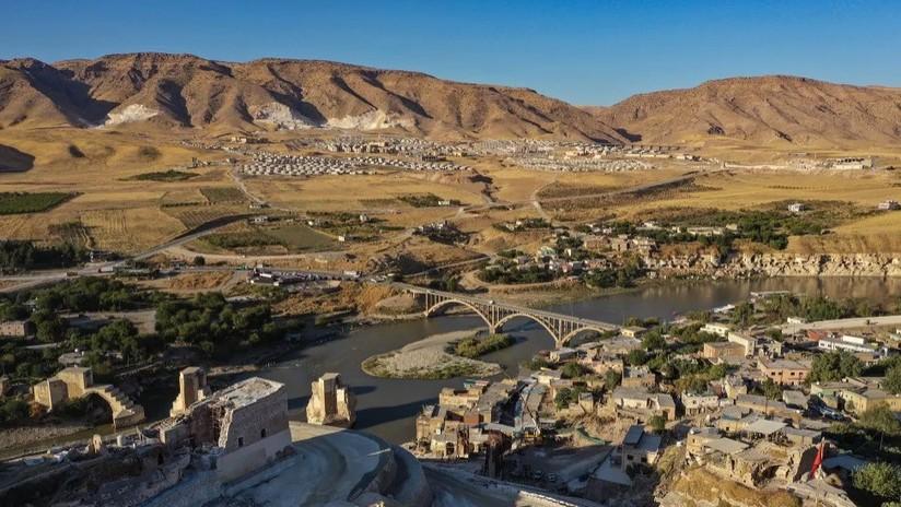 VIDEO: Una de las ciudades más antiguas del mundo pronto quedará bajo el agua por la puesta en funcionamiento de una gran represa