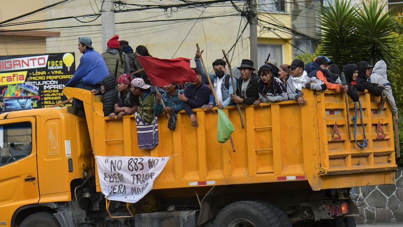 """VIDEO: La alcaldesa de Guayaquil convoca una marcha """"en defensa de la ciudad"""" y tratará de impedir el acceso de los manifestantes indígenas"""