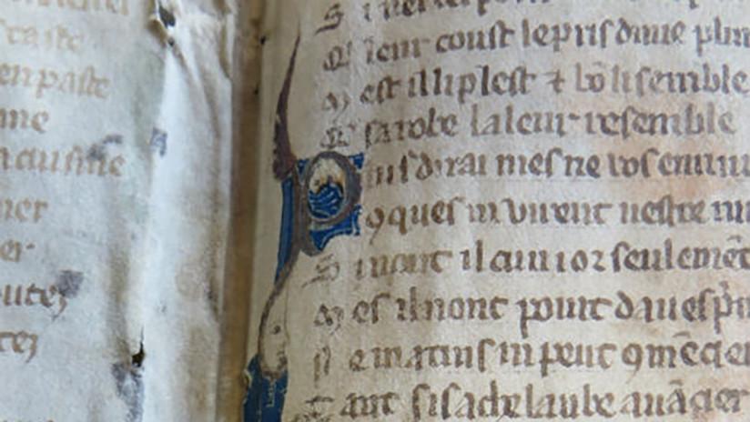 'Cincuenta sombras' medieval: Revelan fragmentos sexuales de un poema francés que habían sido censurados
