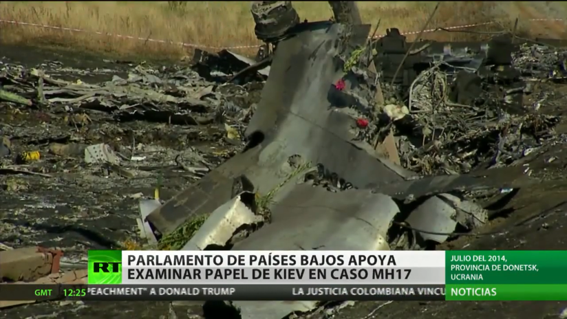 El Parlamento neerlandés, a favor de investigar el rol de Kiev en el derribo del vuelo MH17 de Malasian Airlines