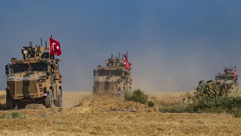 Operativo turco en Siria
