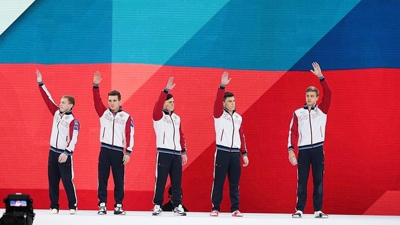 Rusia gana por primera vez el oro por equipos masculino en el Campeonato Mundial de Gimnasia