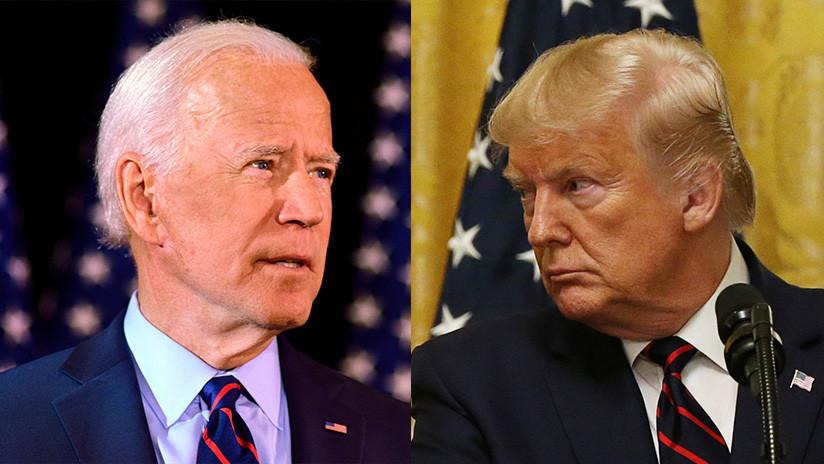 """Joe Biden llama a destituir a Trump y este responde tachando el hecho de """"patético"""""""