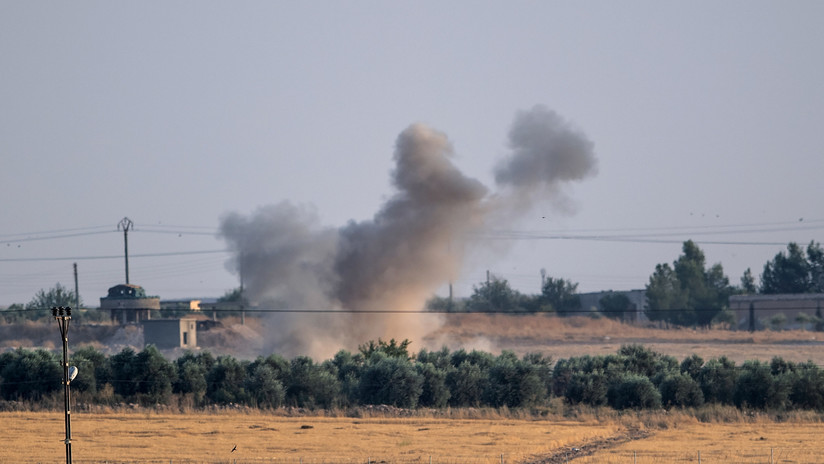 Reportan que Turquía ha bombardeado un campo de entrenamiento de la coalición internacional encabezada por EE.UU. en Siria