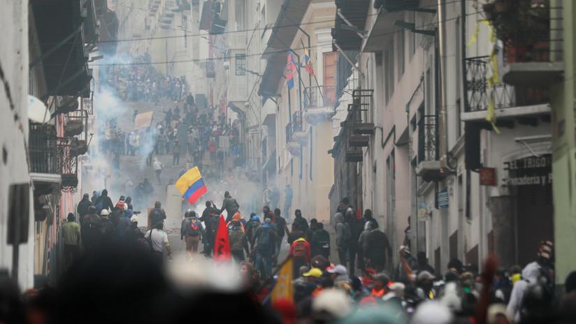 Fuerzas Armadas ecuatorianas se deslindan de las consecuencias de las protestas contra el 'paquetazo' de Moreno
