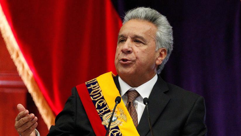 Lenín Moreno llega a Quito en medio de las fuertes protestas contra el 'paquetazo' en Ecuador