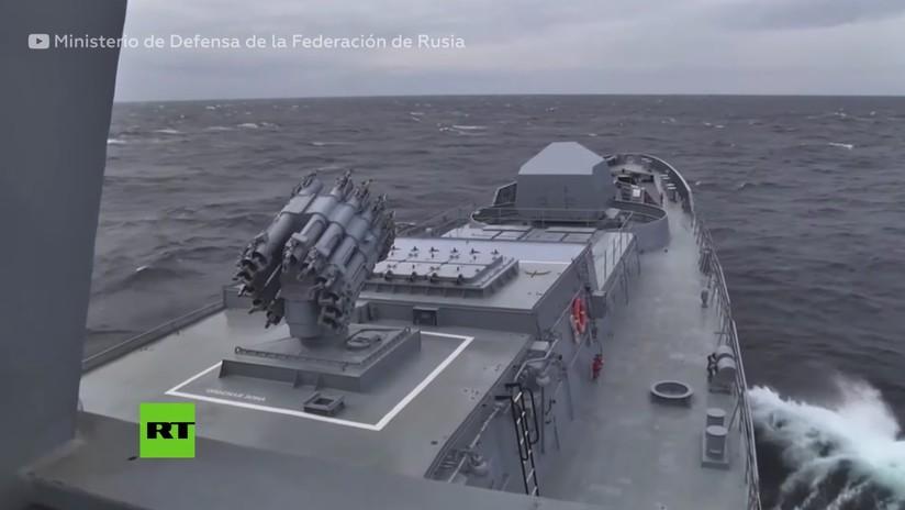 VIDEO: Submarino ruso lanza en inmersión un Kalibr, el misil de crucero más avanzado de la Armada