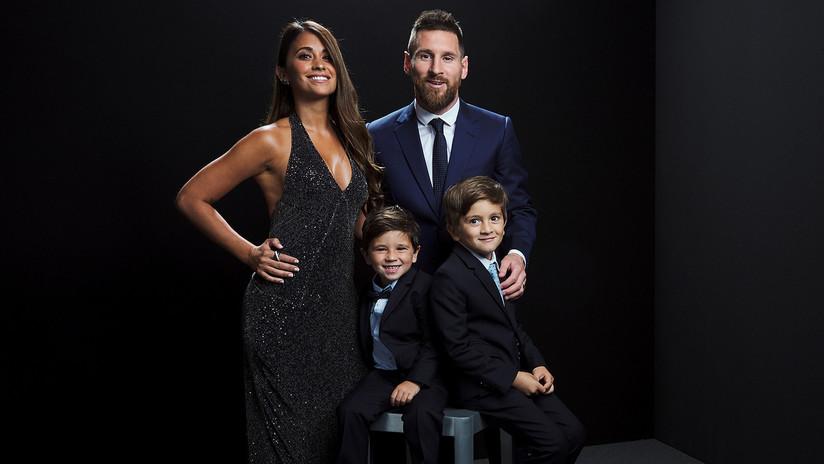 """Messi habla sobre el más popular de sus hijos y admite que se le está """"yendo de las manos"""""""