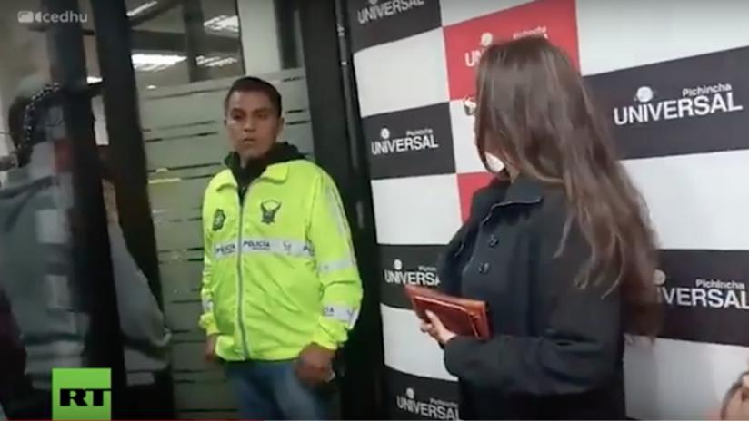 """Autoridades ecuatorianas suspenden las emisiones de radio Pichincha Universal, allanada por presunta """"incitación a la discordia"""""""