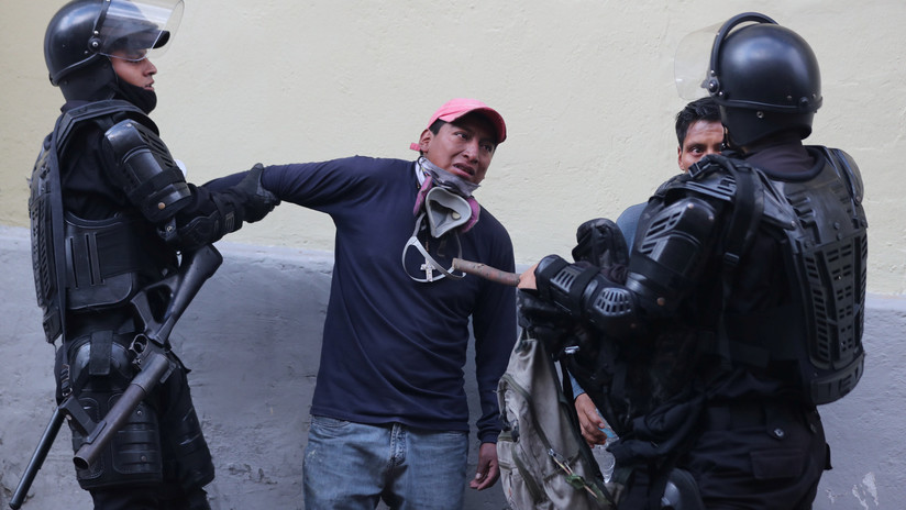 Gobierno de Ecuador reporta 714 detenidos en manifestaciones contra el 'paquetazo' de Lenín Moreno
