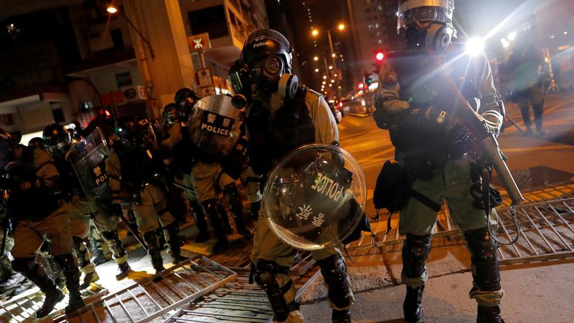 Apple elimina una aplicación utilizada por manifestantes de Hong Kong para rastrear la ubicación de la Policía