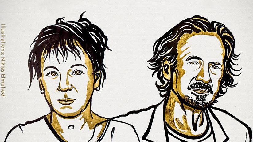 Anuncian los ganadores del Premio Nobel de Literatura 2018 y 2019