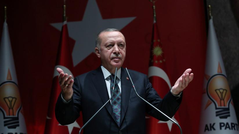 """Siria: """"Las declaraciones de Erdogan son las de una persona que ha perdido el contacto con la realidad"""""""