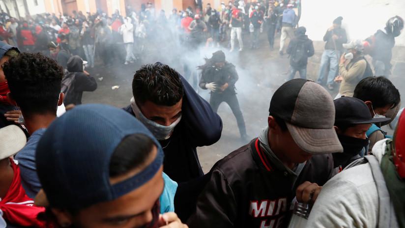 """Analista sobre las protestas en Ecuador: """"Se violó toda norma del derecho internacional humanitario"""""""