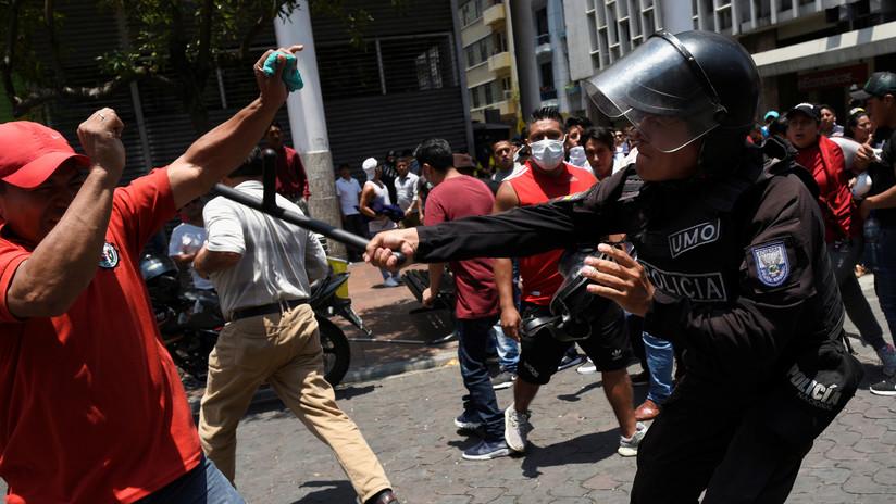 """La CIDH manifiesta preocupación por """"escalada de violencia"""" en protestas en Ecuador"""
