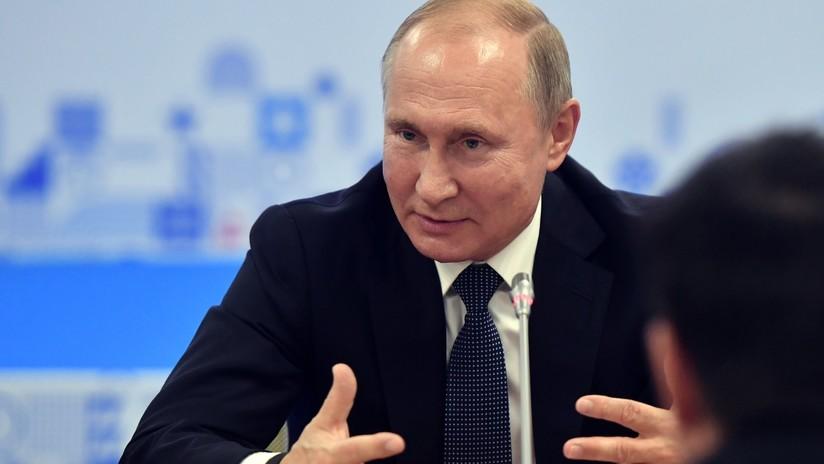 VIDEO: Putin revela cómo le rompieron la nariz en su juventud