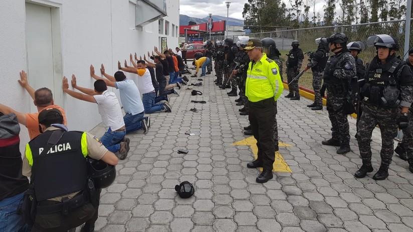Ecuador anuncia la captura de 17 personas en Quito con supuesta información sobre el presidente Moreno