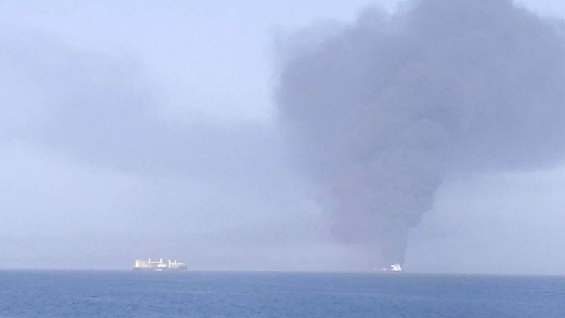 Se produce una explosión en un petrolero iraní cerca de un puerto de Arabia Saudita