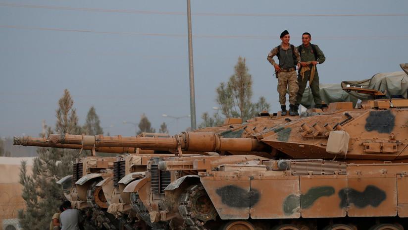 Una explosión se produce cerca de un puesto de control de las tropas de EE.UU. en Siria