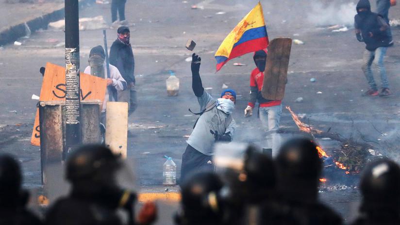 FOTOS: Ecuador llega al noveno día de protestas contra el 'paquetazo' con decenas de heridos y fuertes disturbios