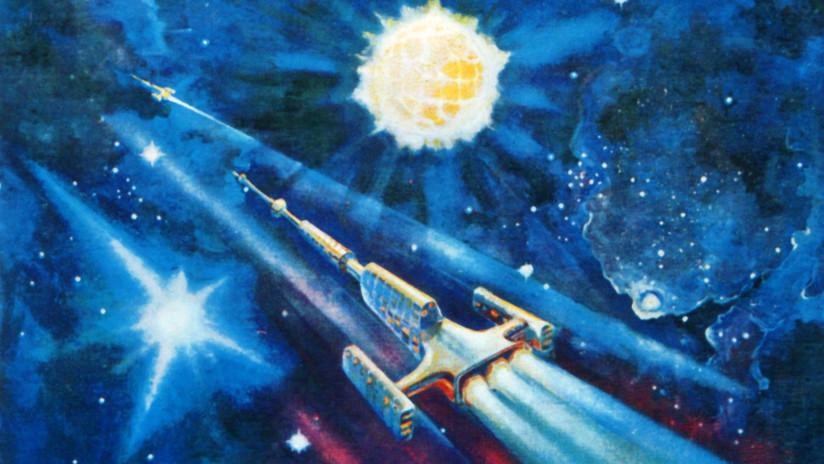Pinturas de Alexéi Leónov: el cosmos a través de los ojos del primer hombre en salir al espacio abierto