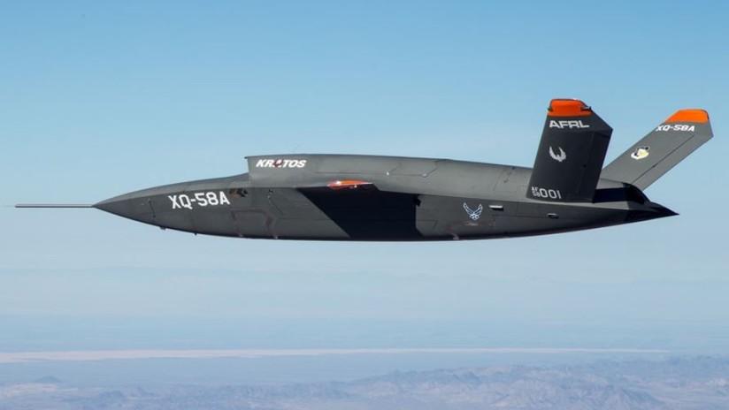 Fuerte viento y un fallo técnico causan el siniestro de un dron de combate de la Fuerza Aérea de EE.UU.