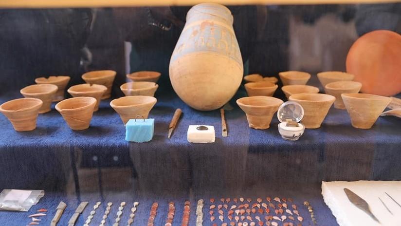 """""""No tiene precedentes"""": Hallan en Egipto una 'zona industrial' de hace más de 3.000 años (FOTOS)"""