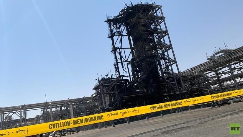 FOTOS, VIDEO: Saudi Aramco muestra sus instalaciones petroleras atacadas con drones