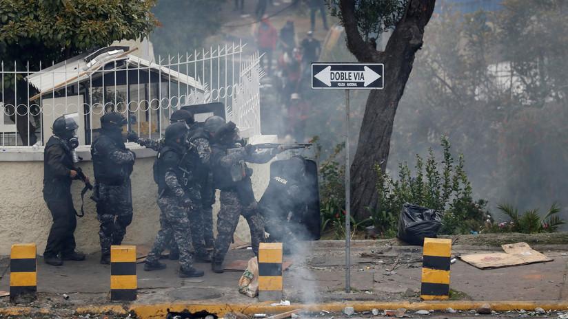 Las Fuerzas Armadas de Ecuador anuncian una restricción de movilidad en el país durante 24 horas