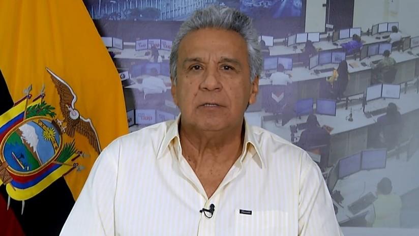 """Moreno anuncia 5 resoluciones tras """"días difíciles"""" para Ecuador"""