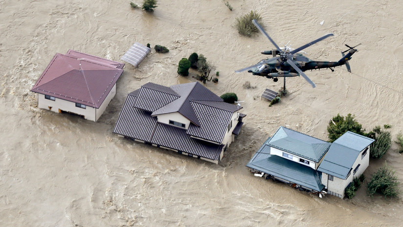 Al menos 25 de muertos, 15 desaparecidos y más de 160 heridos: el saldo parcial del poderoso tifón Hagibis en Japón