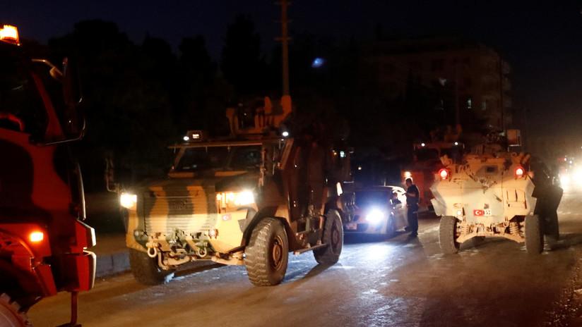 Fuerzas turcas ocupan una localidad fronteriza en el noreste de la provincia siria de Raqa