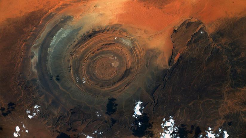FOTO: Astronauta capta el colosal 'Ojo del Sahara' desde la EEI