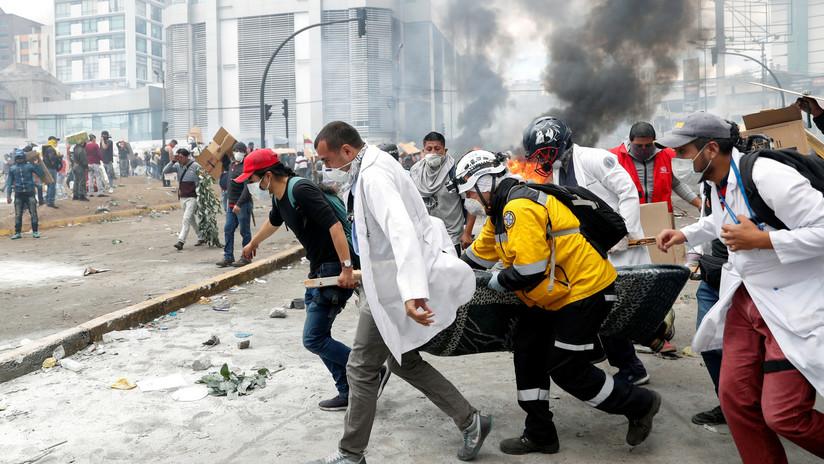 Balance de once días de protestas en Ecuador: 7 muertos, 1340 heridos y 1152 detenidos